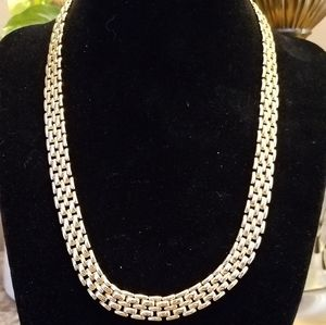 Goldtone Chain Necklace